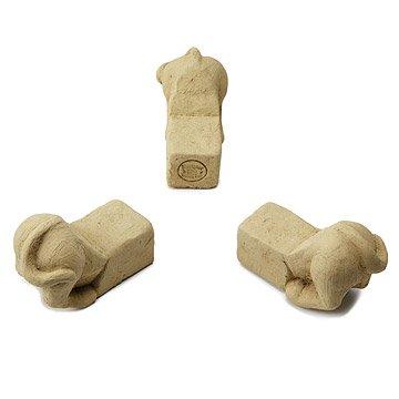 Dog Rear Pot Feet - Set of 3