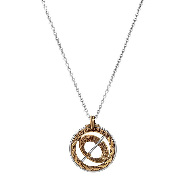 Explorer Sundial Necklace