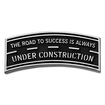 Road to Success Paperweight