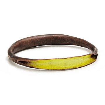Copper and Enamel Bracelets