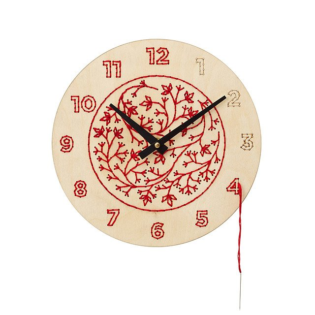 DIY Embroidery Clock Kit