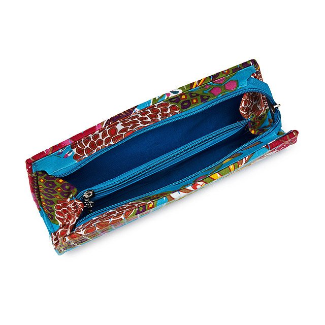 Upcycled Sari Kantha Clutch 2