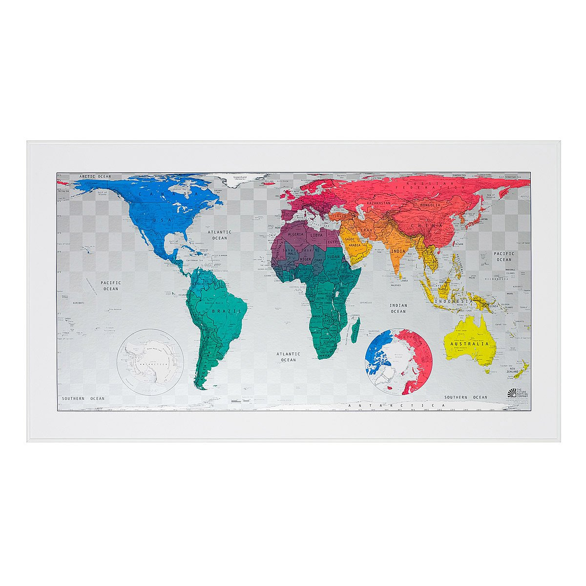 Scratch Map scratch off world world poster – Magnetic Travel Map