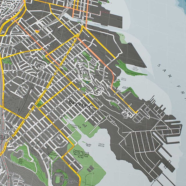 San Francisco Magnetic Map 2