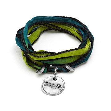 Silk Wrapped Soul Bracelet - Consciousness