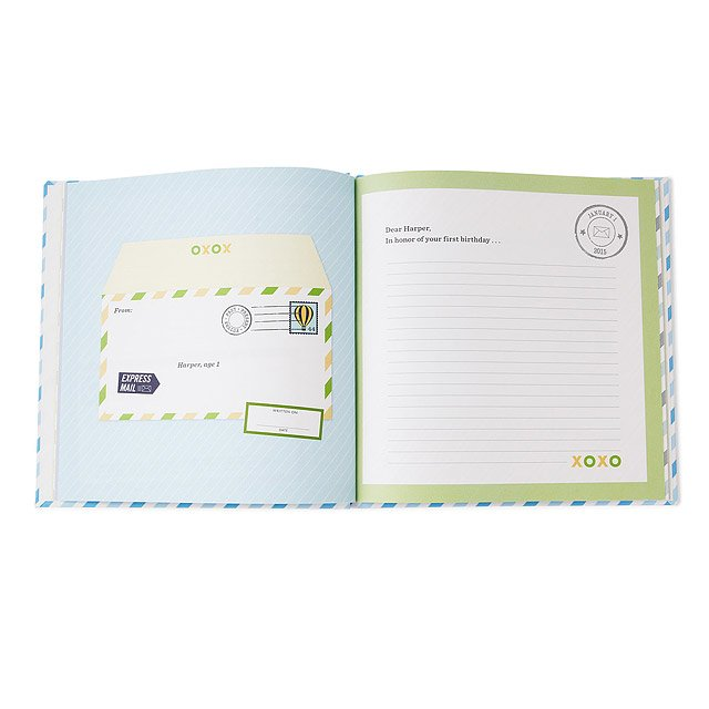Personalized Journal: Letters to My Grandchild 2