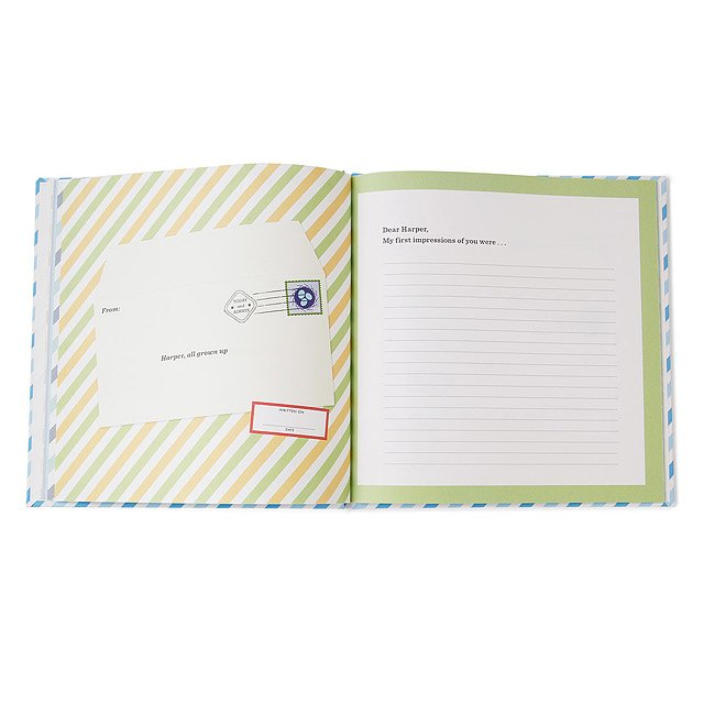 Personalized Journal: Letters to My Grandchild 3