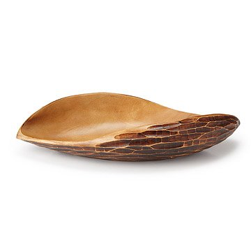 Tortoise Shell Serving Bowl