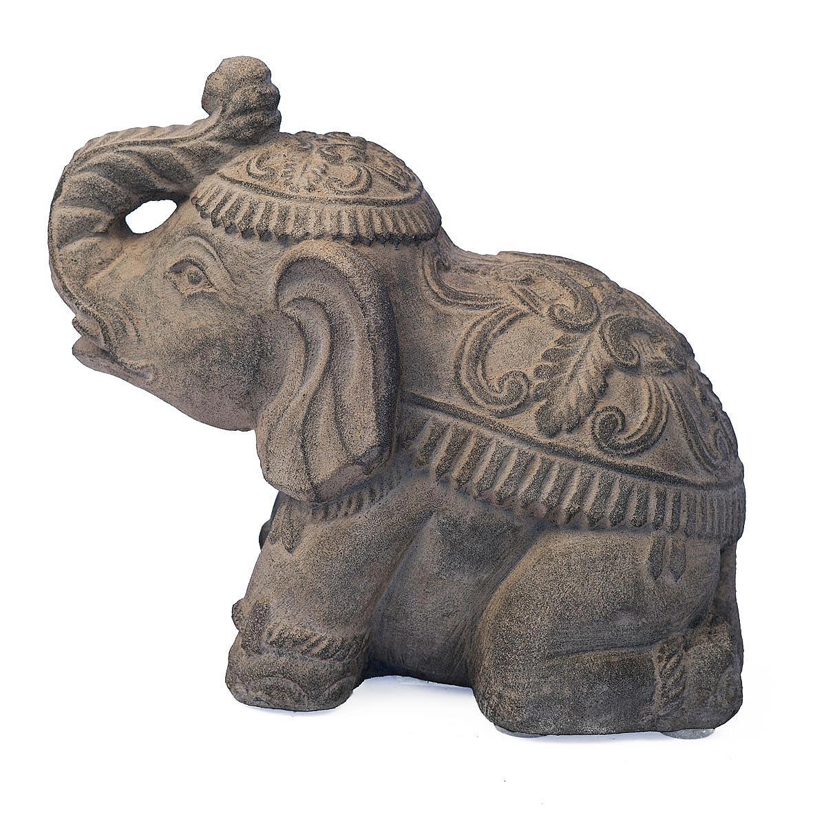 Elephant Garden Sculpture garden decor UncommonGoods