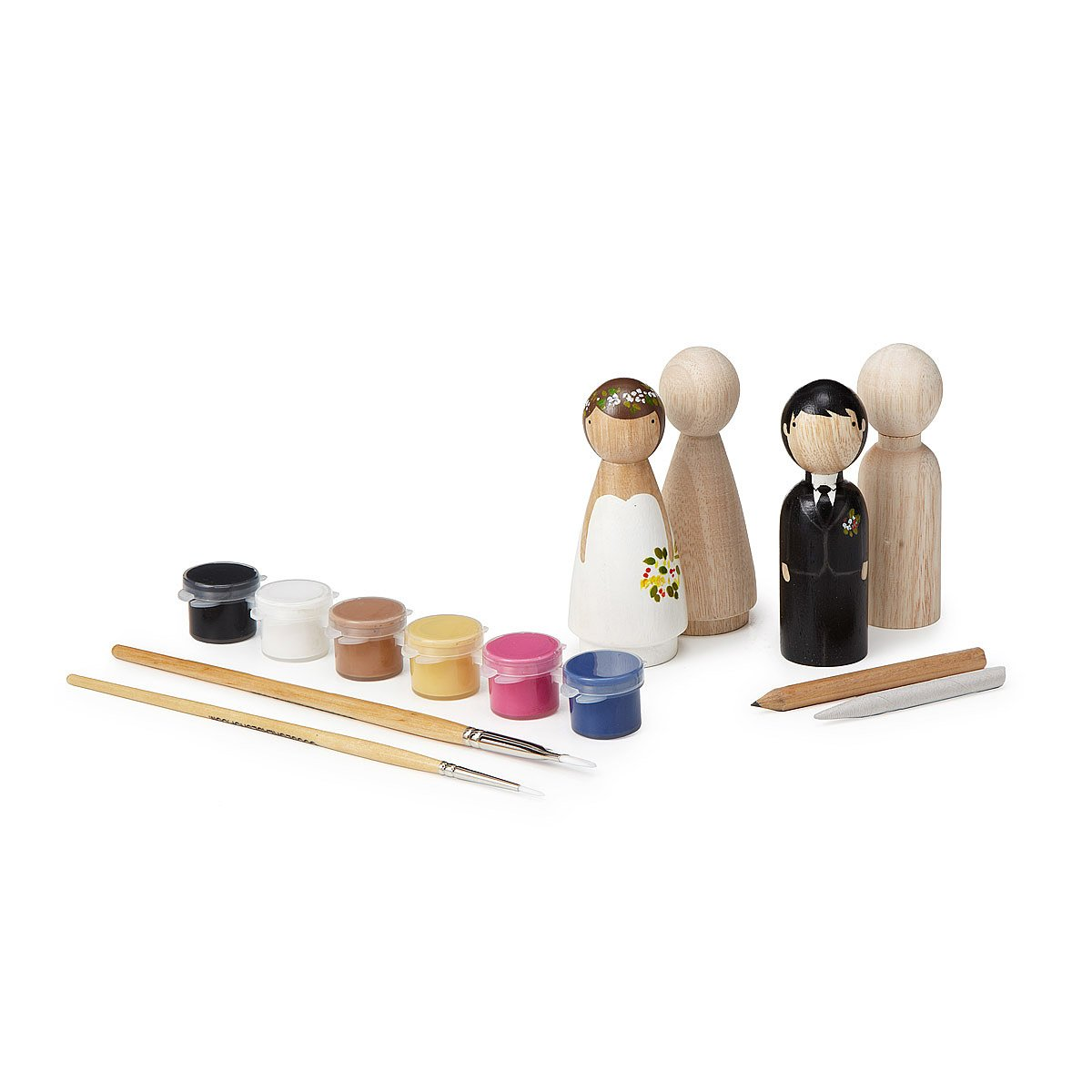 diy wedding cake topper kit crafts bride and groom figures bridal