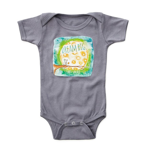 Dream Big Start Small Babysuit