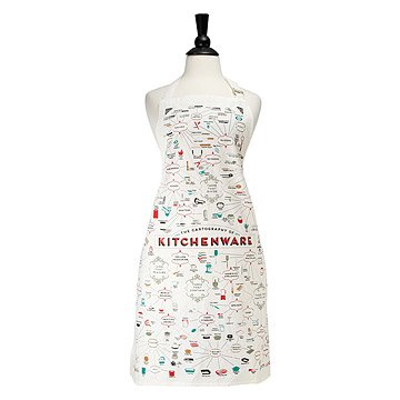 The Cartography of Kitchenware Apron