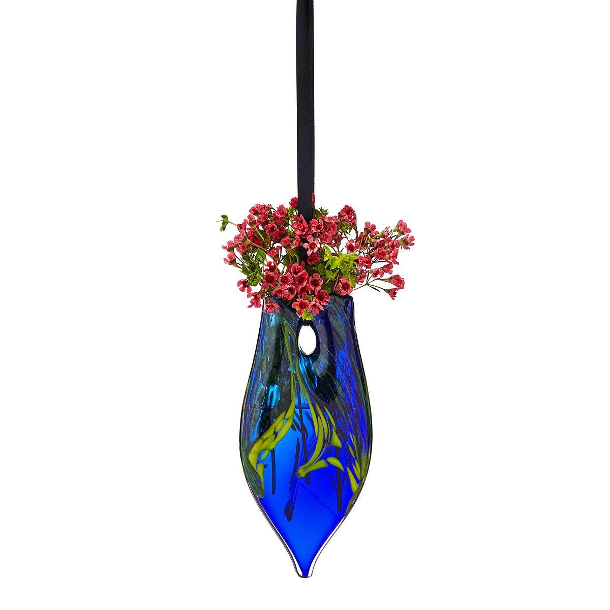 Hanging Heart Vase Glass Vessel Uncommongoods