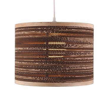 Corrugated Cardboard Hanging Lamp
