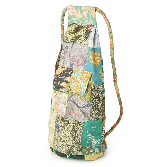 Upcycled Indonesian Batik Back Pack