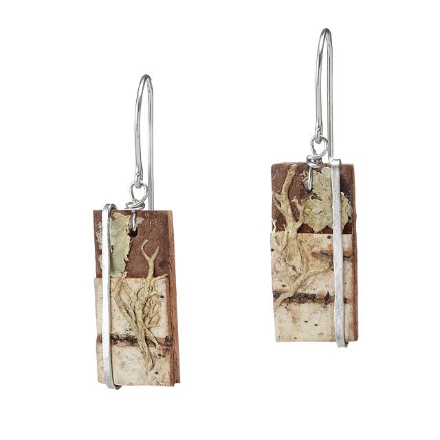 Mossy Birch Earrings