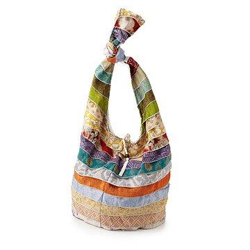 Upcycled Sari Sling Bag