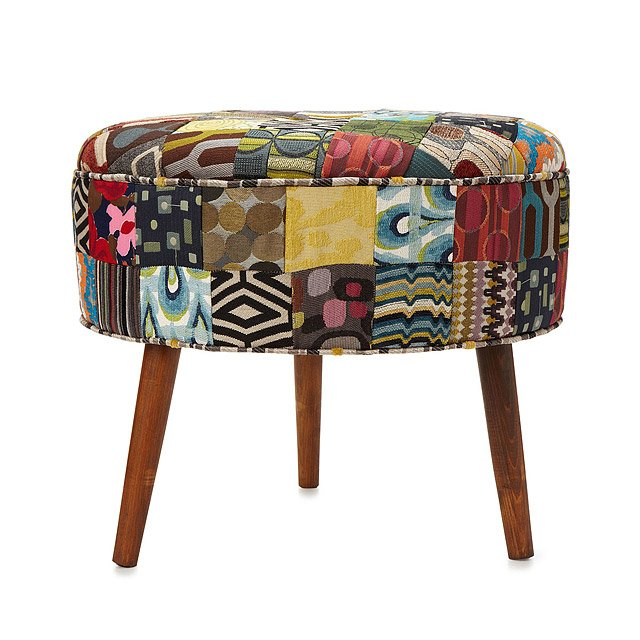 Reclaimed Patchwork Ottoman 3