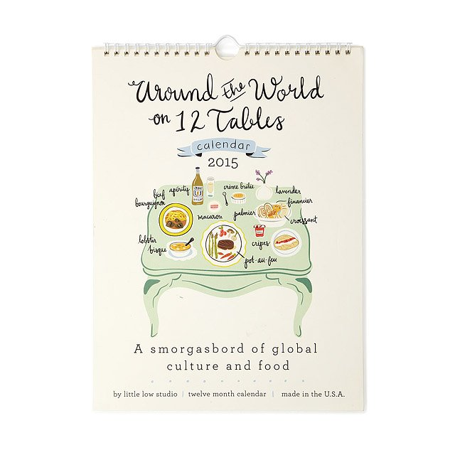 Cuisine Around the World Calendar
