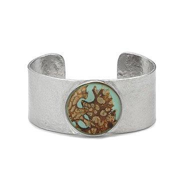 Mushroom Bark Cuff Bracelet