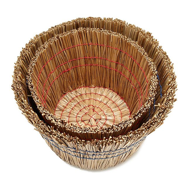 Nesting Sweep Baskets - Set of 2 2