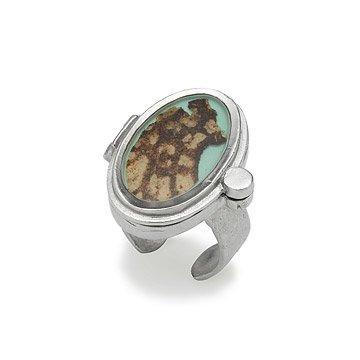 Mushroom Bark Ring