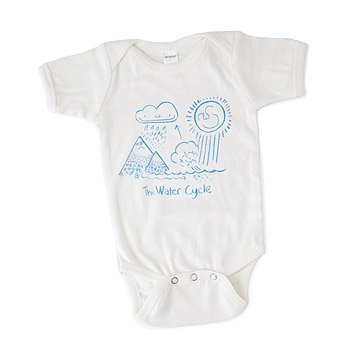 Water Cycle Babysuit