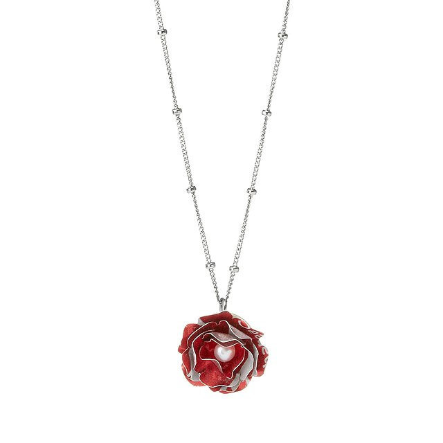 Papillion Rose Necklace