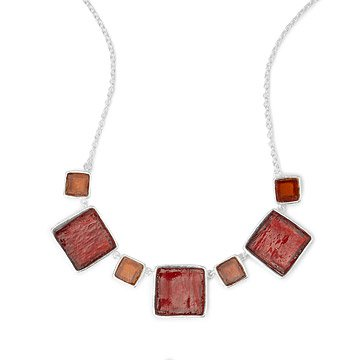 Mosaic Square Necklace