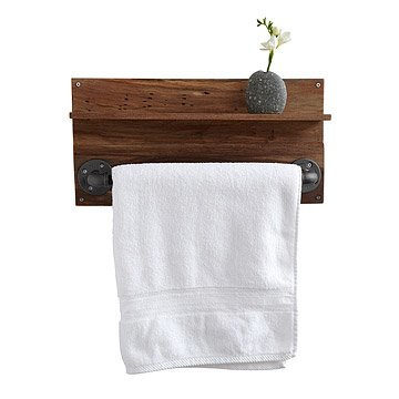 Reclaimed Walnut Towel Rack