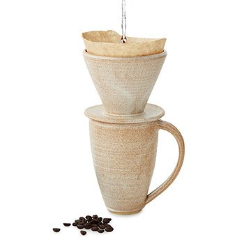 Goldenrod Coffee Pour Over and Mug