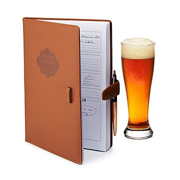 Beer Gifts for Him - Brewer's Journal