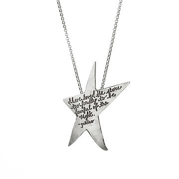 Astronomy Quote Necklace