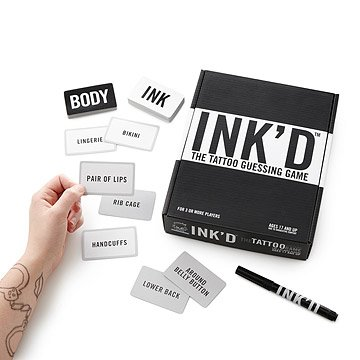 Ink'd the Tattoo Guessing Game