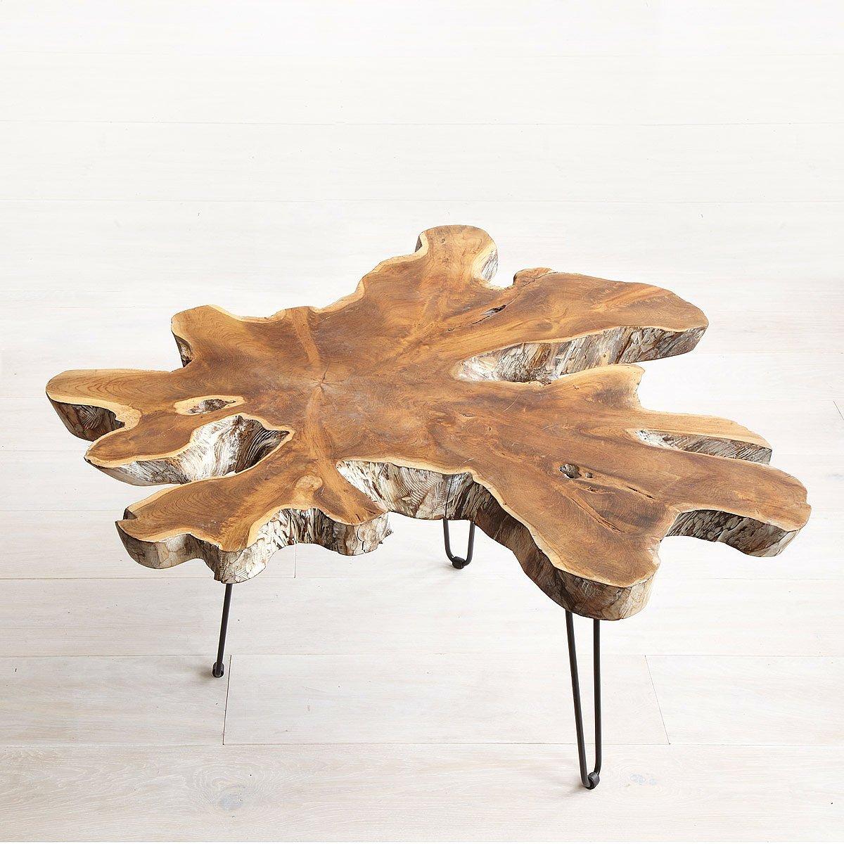 Teak Root Coffee Table   teak furniture   UncommonGoods