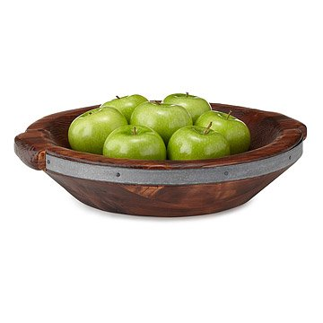 Reclaimed Wood Serving Bowl