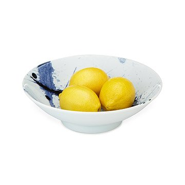 Blue Splatter Bowl