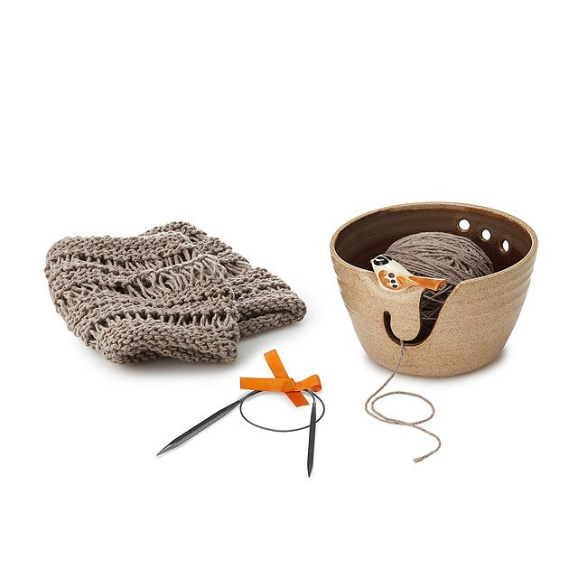 Birdie Yarn Bowl Knitting Kit