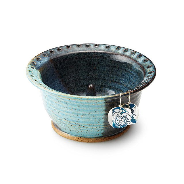 Two Tone Earring and Ring Bowl