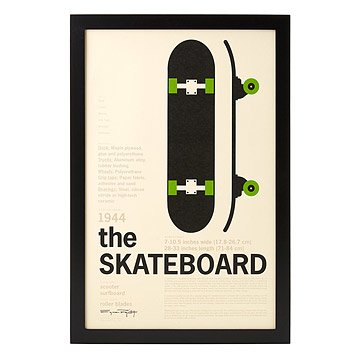 The Skateboard Encyclopedic Print