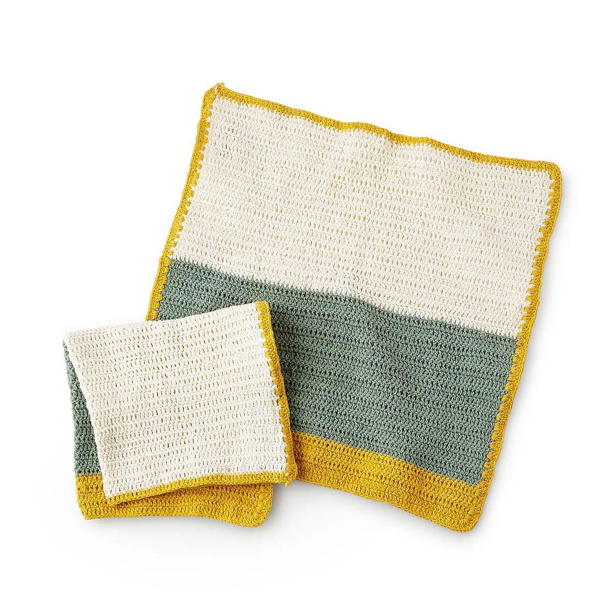 Crocheting Dish Towels : Crochet Dishcloths - Set of 2 hand crocheted, cloth dish towel ...