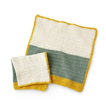 Crochet Dishcloths - Set of 2