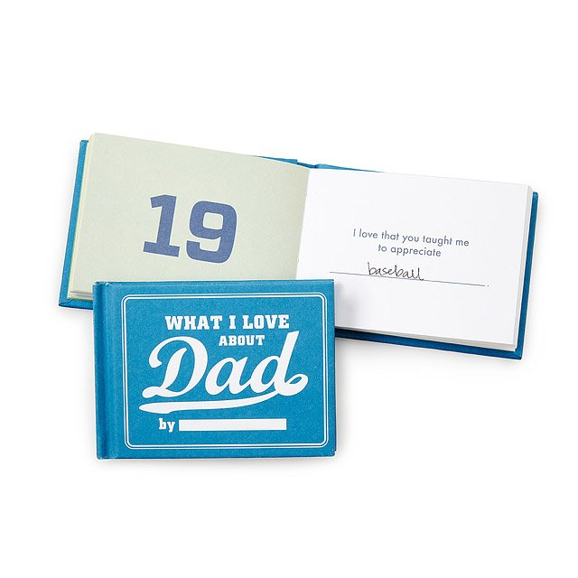 What I Love About Dad By Me Book