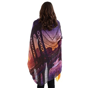 Brooklyn Skyline Scarf