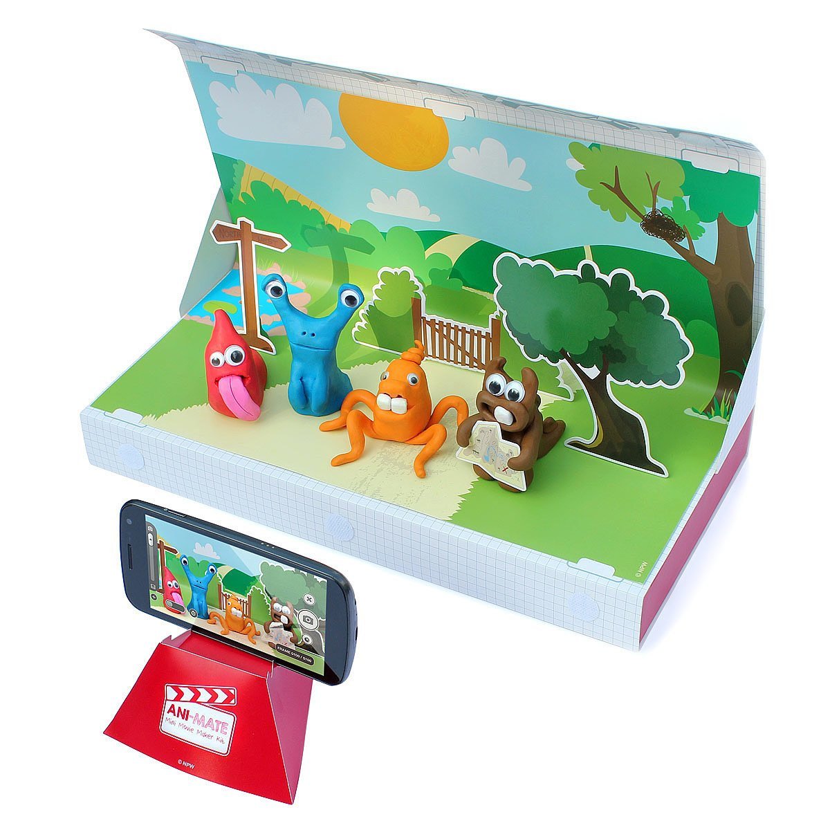 Stop Motion Claymation Kit