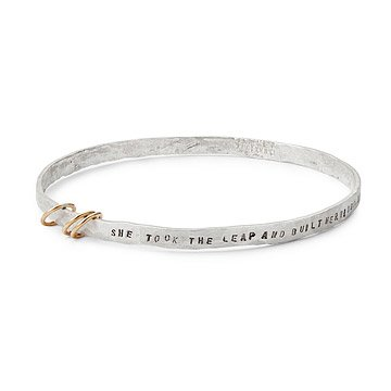 Sterling Silver Wings Bangle