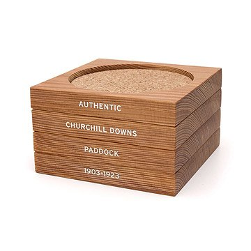 Kentucky Derby Churchill Downs Coaster Set