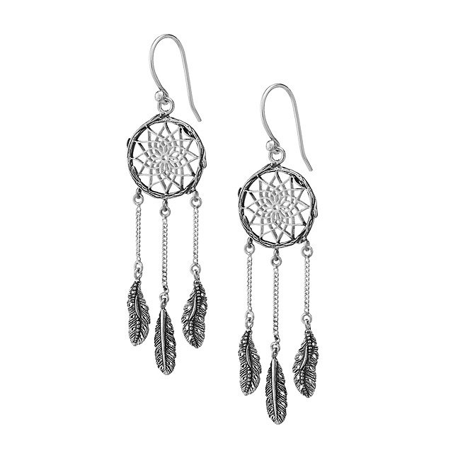 Mini Dreamcatcher Earrings