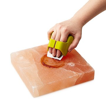 Himalayan Salt Plank Scrubber Brush