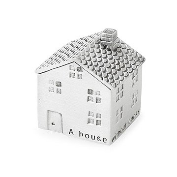 House Without Books Paperweight